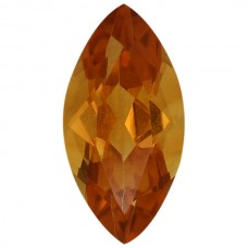 Marquise Genuine Citrine Quartz