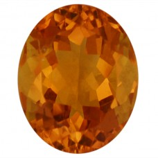 Oval Genuine Citrine Quartz