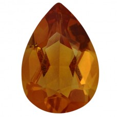 Pear Genuine Citrine Quartz