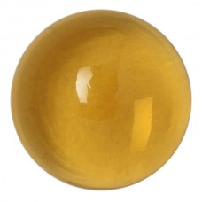 Round Genuine Cabochon Citrine Quartz