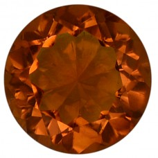 Round Genuine Citrine Quartz