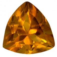 Trillion Genuine Citrine Quartz