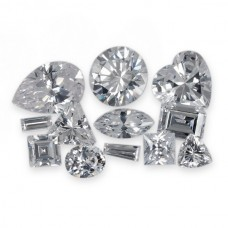Cubic Zirconia Faceted