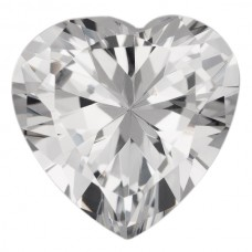 Heart Lab Created Cubic Zirconia