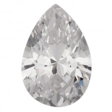Pear Lab Created Cubic Zirconia