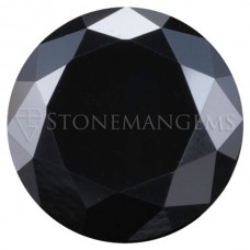 Round Black Genuine Diamond