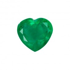 Heart Genuine Emerald Single Stone(s)