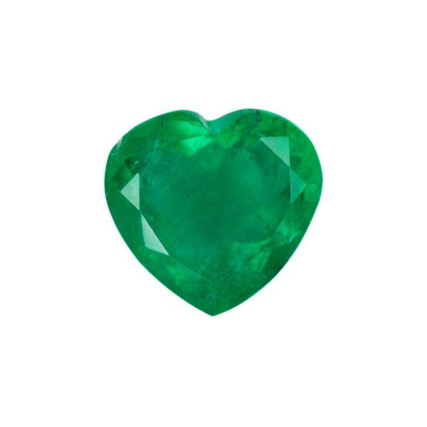 Heart Genuine Emerald Single Stone(s)