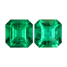 Octagon Genuine Emerald Single Stone(s)