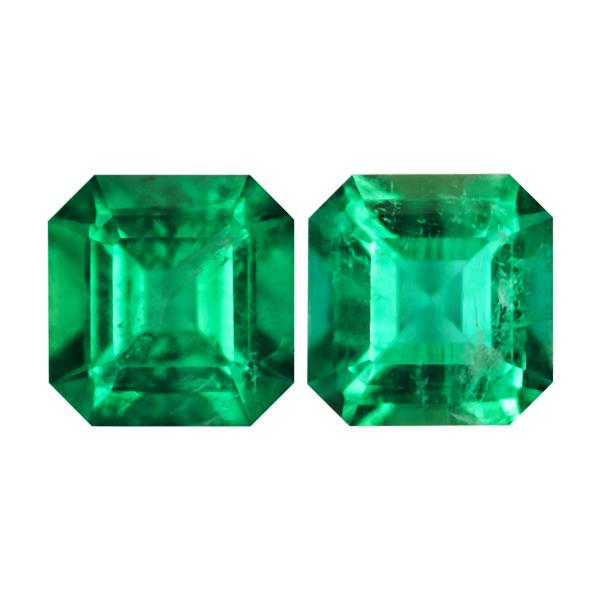 Octagon Genuine Emerald Single Stone(s)