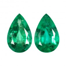 Pear Genuine Emerald Single Stone(s)