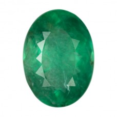 Oval Genuine Emerald Single Stone(s)