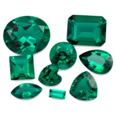 Emerald Created (Hydro) Faceted