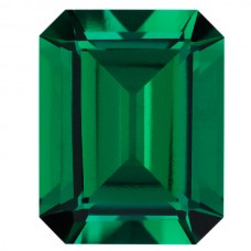 Octagon Lab Created Emerald