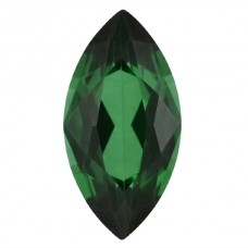 Marquise Simulated Emerald Doublet