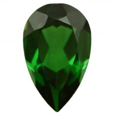 Pear Simulated Emerald Doublet