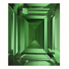 Cushion Simulated Emerald Doublet