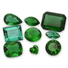 Emerald Ferrer Simulated Faceted