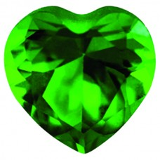 Heart Simulated Emerald Ferrer