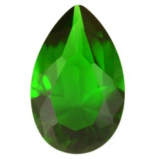 Pear Simulated Emerald Ferrer