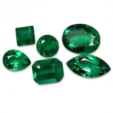 Emerald Genuine Faceted