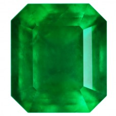 Octagon Genuine Emerald