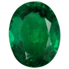 Oval Genuine Emerald