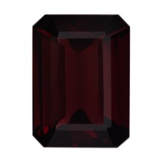 Octagon Genuine Garnet Single Stone(s)
