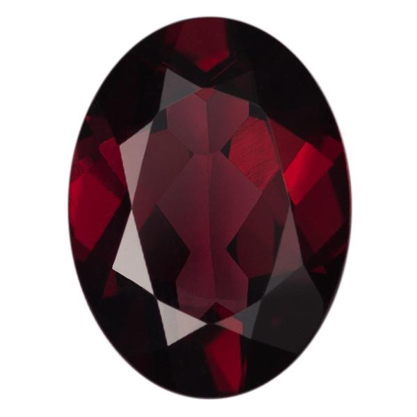 Oval Genuine Garnet Single Stone(s)