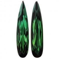Pear Genuine Green Tourmaline Single Stone(s)