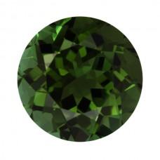 Round Genuine Green Tourmaline Single Stone(s)