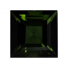 Square Genuine Green Tourmaline Single Stone(s)