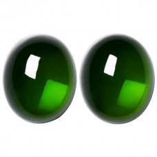 Oval Genuine Green Tourmaline Single Stone(s)