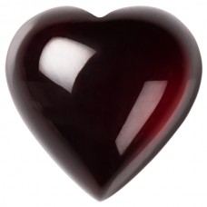 Heart Genuine Cabochon Garnet