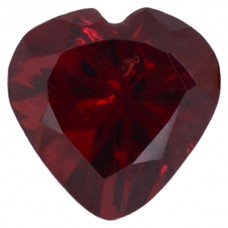 Heart Genuine Garnet