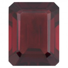 Octagon Genuine Garnet