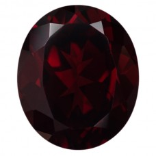 Oval Genuine Garnet