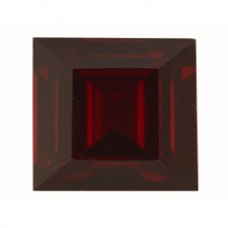 Square Genuine Garnet