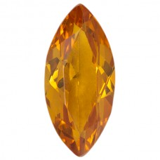 Marquise Synthetic Gold Sapphire