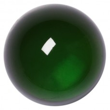 Round Genuine Cabochon Green Tourmaline