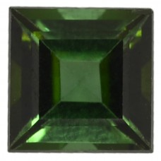 Square Genuine Green Tourmaline