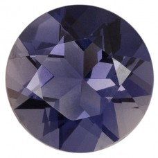 Round Genuine Iolite Single Stone(s)
