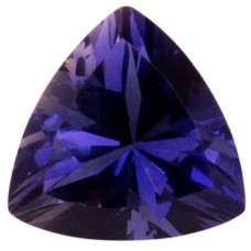 Trilliant Genuine Iolite Single Stone(s)
