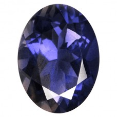 Oval Genuine Iolite Single Stone(s)