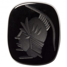 Antique Genuine Black Onyx Intaglio