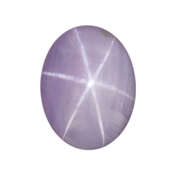 Oval Genuine Lavender Star Sapphire Single Stone(s)