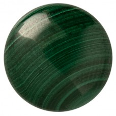 Round Genuine Cabochon Malachite