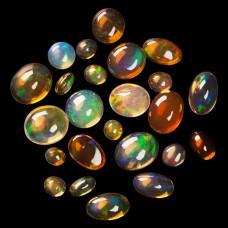 Mexican Opal Assorted Lot 24pcs