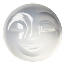 Round Genuine Carved Moonstone