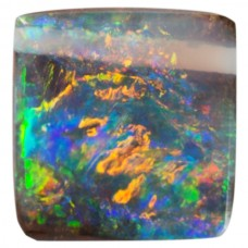 Square Genuine Boulder Opal Single Stone(s)